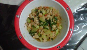 Resep Mpasi Tumis Salmon Tofu Zarahgy S Blog