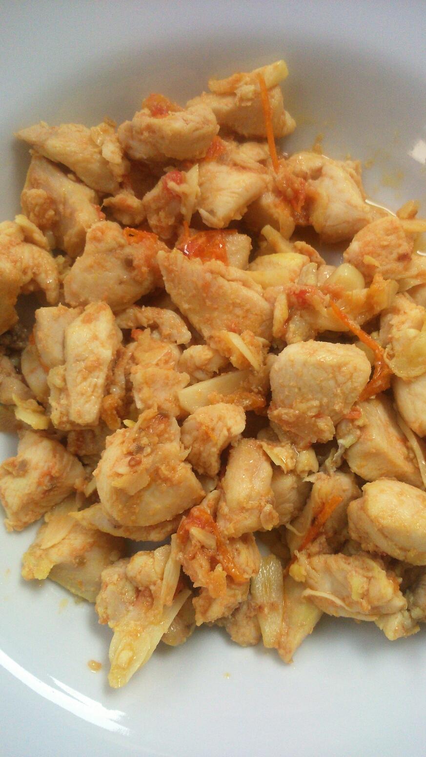 Resep Mpasi Ayam Tumis Mentega Zarahgy S Blog
