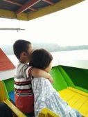 Naik Perahu menuju Glamping Resort